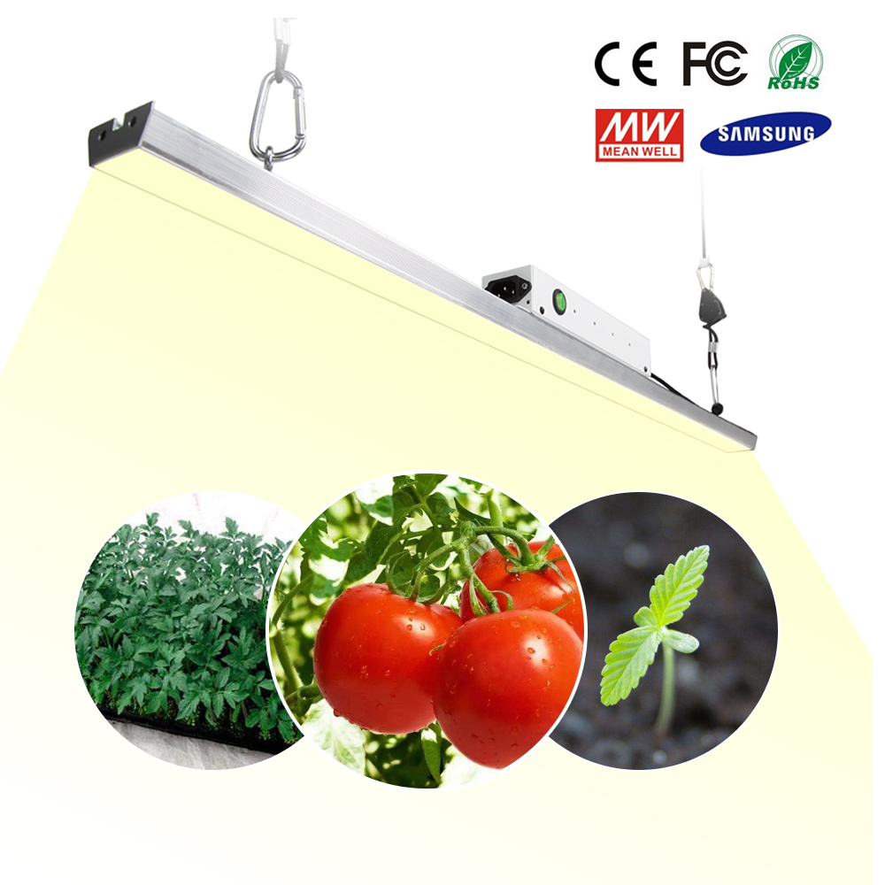LED Grow Light Bar Quantum <font><b>Board</b></font> <font><b>Samsung</b></font> <font><b>LM301B</b></font> Full Spectrum 300W 3500K Plant Growing Lamp For Indoor image
