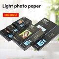 50 листов А4 А5 струйных принтеров с цветной коробкой глянцевая фотобумага фотостудия Фотография 230 г печатная бумага