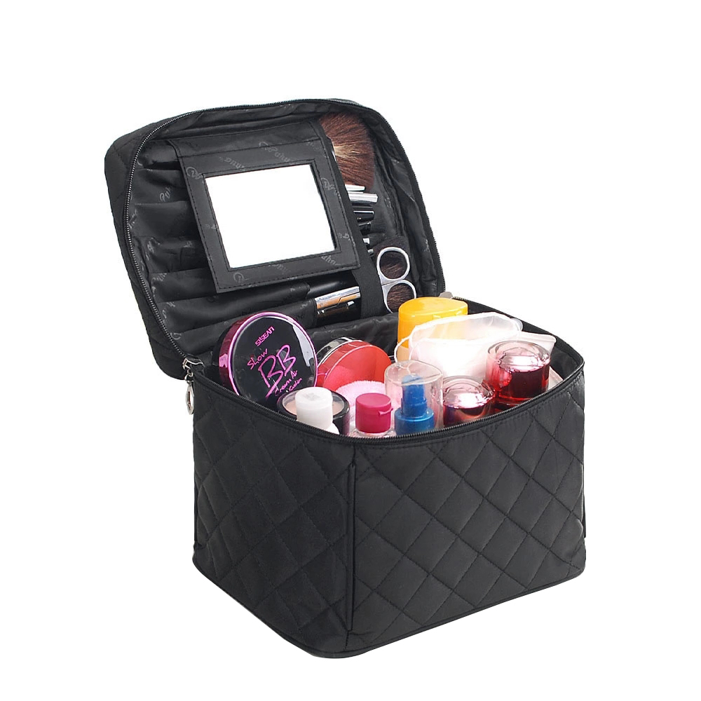 Cosmetic-Bag-Case Makeup-Bag Beautician-Pouch Travel-Organizer Waterproof Foldable High-Capacity