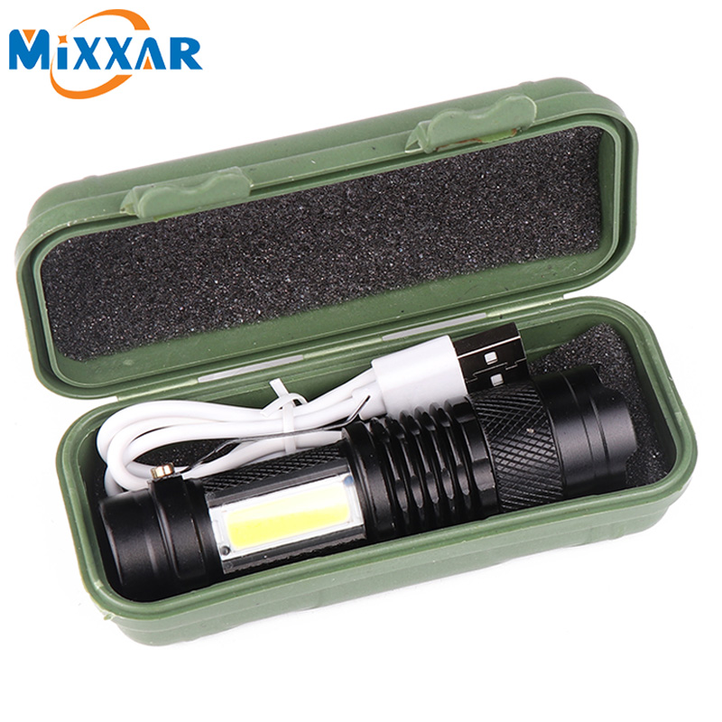 Mini 1200LM High Power Torch Cree Q5 LED Tactical Flashlight AA Lamp UK SELLER
