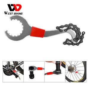 Image 3 - Multifunktionale Fahrrad Reparatur Werkzeug Kits Kette Breaker Schwungrad Remover Kurbel Puller Schlüssel MTB Rennräder Wartung Werkzeuge