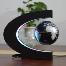 Магнитный левитационный Глобус светодиодный ночной Светильник