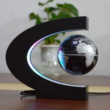 Magnetic Levitation Globe LED Night Light Novelty Floating Earth Lamp Creative Decoration Light Lighting Student Children Gift
