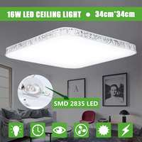 LED Ceiling Light Modern Lamp Waterproof Ultra Thin Home Living Room Lighting Fixture Bedroom Kitchen Surface Mount Flush Panel