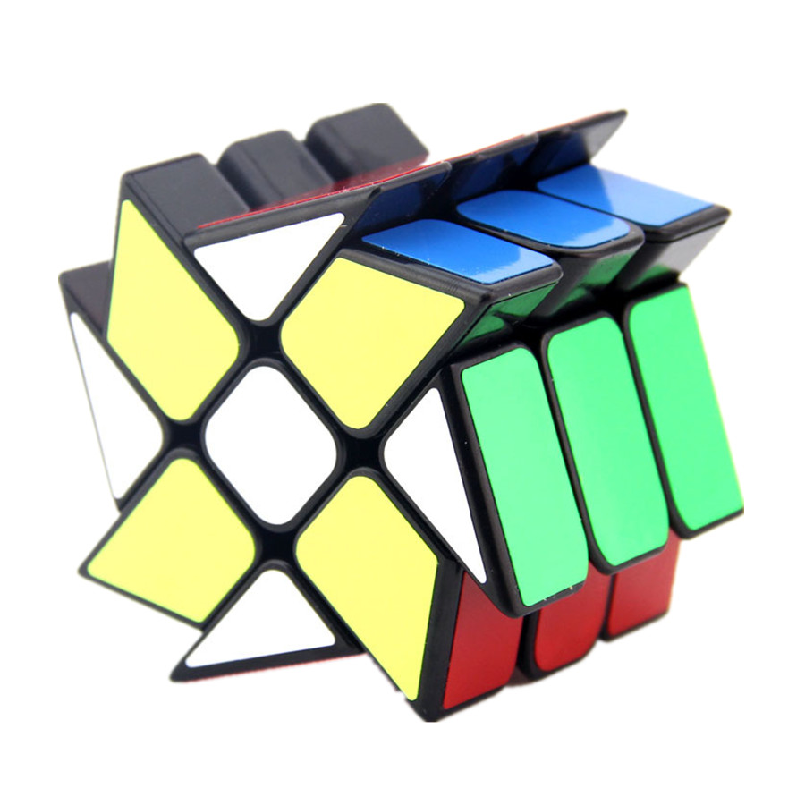 Yongjun 5.6cm Windmill Cube Stickerless Original Magic Speed Cube Cubing Classroom Cubo Magico