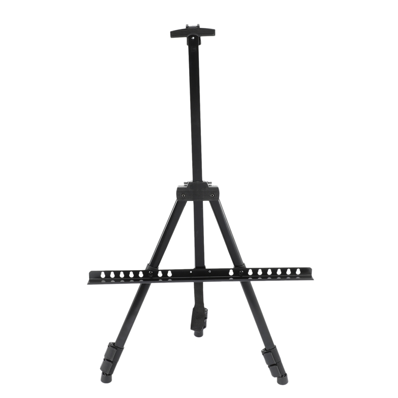 Portable Folding Easels Stand With Gym Bag For Artist Painting Outdoor Fold Table Easel 170cm Height Aluminum Set