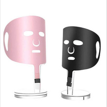 2019 new listed electric heating mask instrument graphene heating far infrared wrinkle lifting and thin face acne Whitening Mask