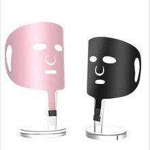 2019 nuovi quotate riscaldamento elettrico maschera strumento grafene riscaldamento lontano infrarosso rughe lifting e sottile viso acne Sbiancamento Maschera