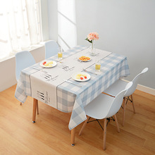PVC Tablecloth Waterproof Placemat Wedding-Dining Home Tea Floral for Restaurant