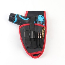 Waterproof Electrician Oxford Pockets Storage Bag Hardware Waist Tool For Electric Drill Cordless Holder Belt