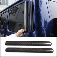 Real Carbon Fiber Car Rear Side Vent Decoration For Mercedes Benz G Class 2019 2020 Car Exterior Accessories 2 Pcst