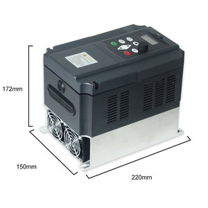 Image 3 - VFD 5.5KW nuevo inversor motor de eje de CNC control de velocidad 220V 5.5KW 20A 220v 1P entrada 3P fuera inversor de frecuencia para motor