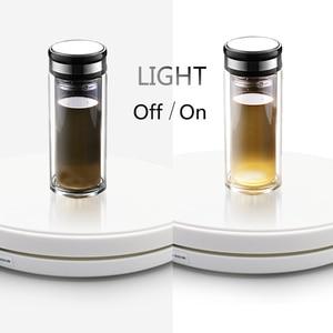 Image 4 - LED подставка для фотографий, 25 см, 360 градусов