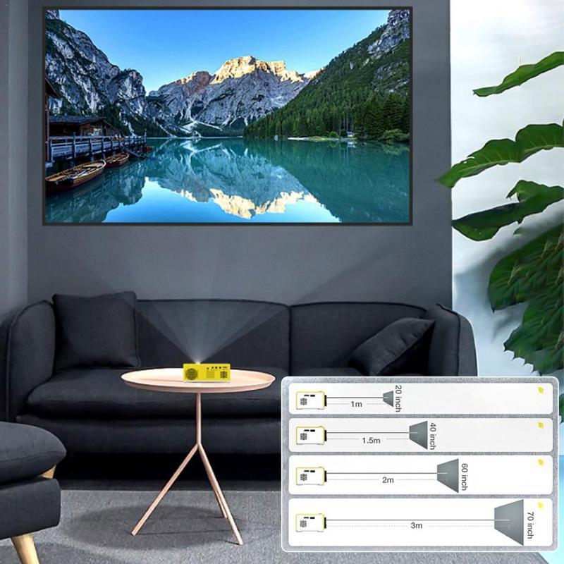 portátil projetor casa media player vídeo