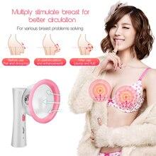 Women Breast Massager Vacuum Negative Pressure Breast Enhancer Chest Enlargement Pump Acupressure Massage Therapy Suction Cup 35