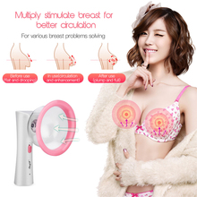 Women Breast Massager Vacuum Negative Pressure Breast Enhanc