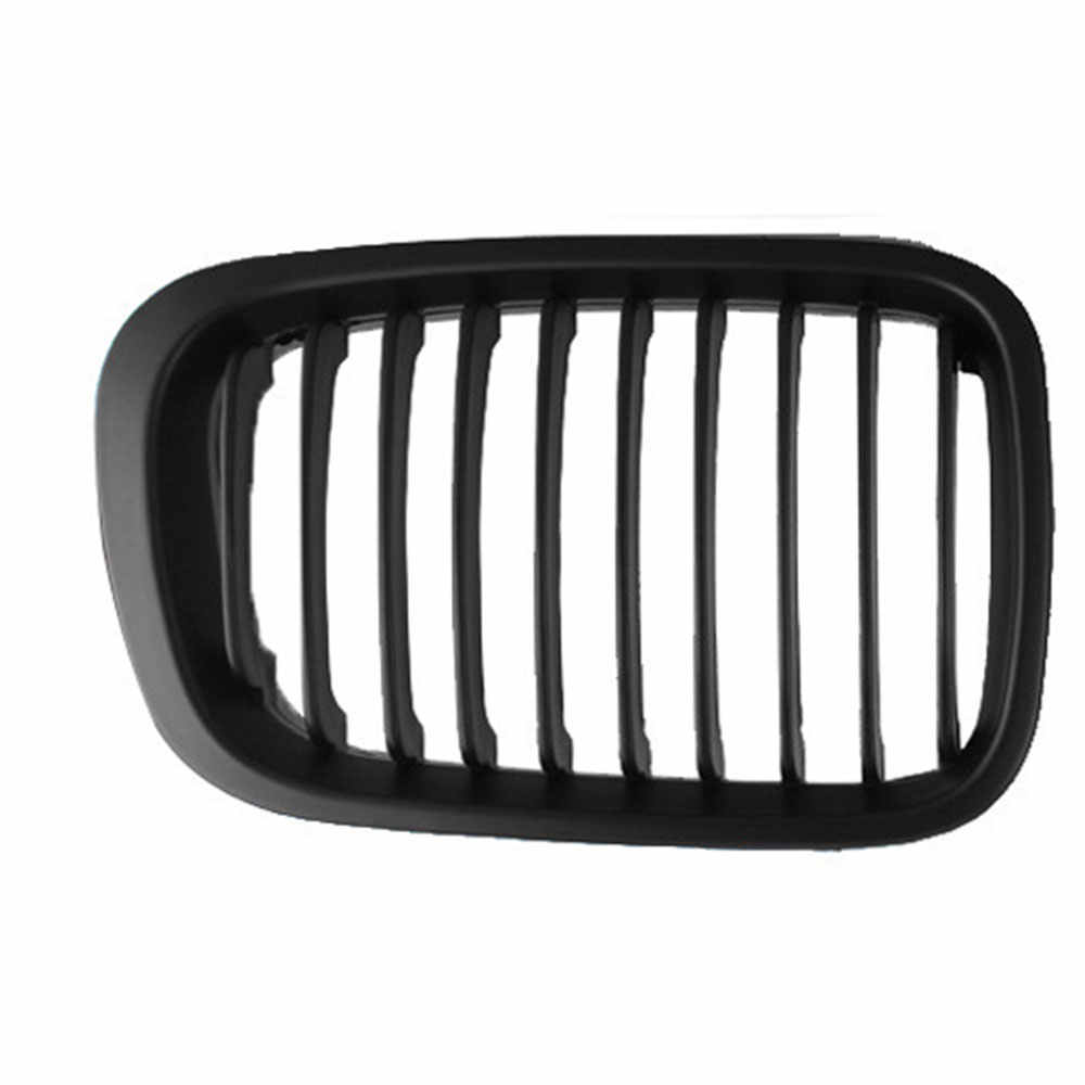 Auto Schwarz Racing Grills Fit Für BMW E46 318I 320I 325I 330I 98-01 Front Air Intake Grill Stoßstange niere Gitter