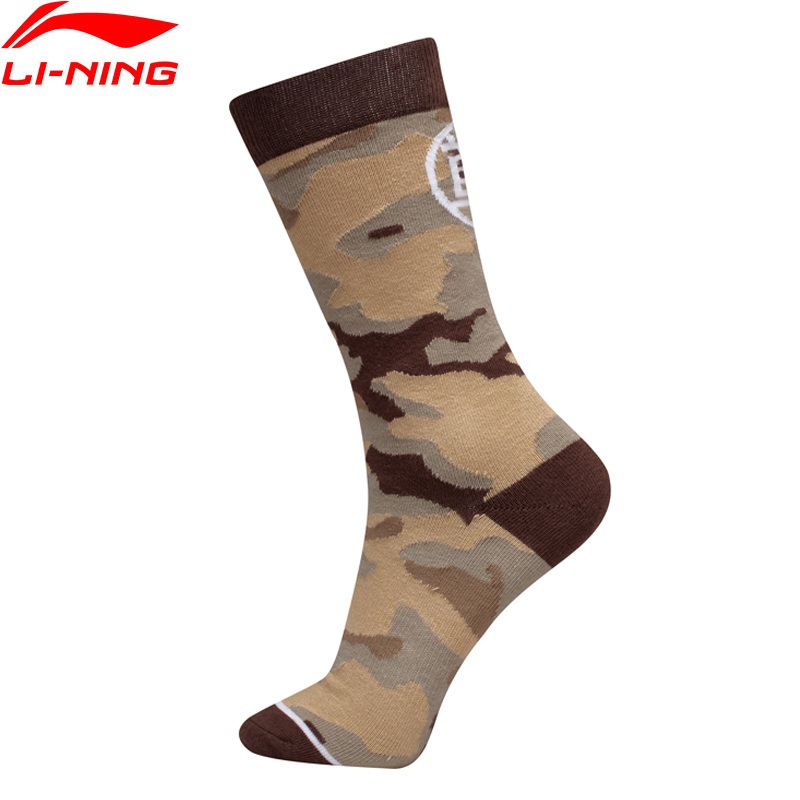 Li-Ning Men The Trend ESSENCE Sports Socks 24-26 CM LiNing Li Ning Comfort Sport Socks AWLP031 NWM459