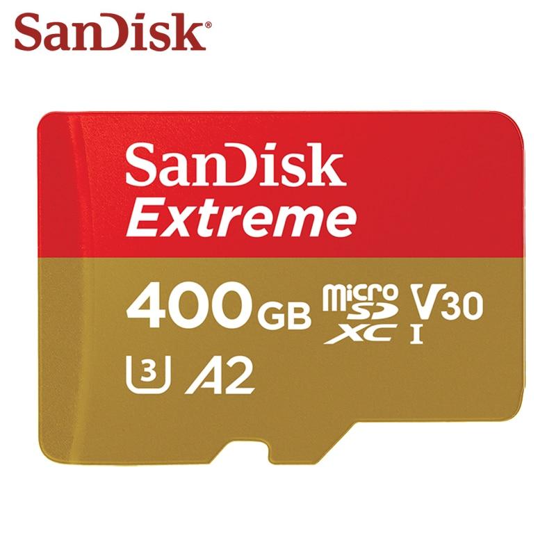 SanDisk Extreme Micro SD Card 128GB Memory Card UHS-I SDHC SDXC U3 V30 32GB 64GB TF Card For Smartphone Camera Free Shipping