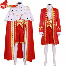 Performance Costume George Washington Hamilton King Cosplay Musical Outfit Custom-Made