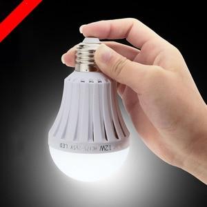 LED 5W 7W 9W 12W 15W Emergency Light Bulb Rechargeable Intelligent Lamp Energy efficient 1600 lm Patent heat dissipation design