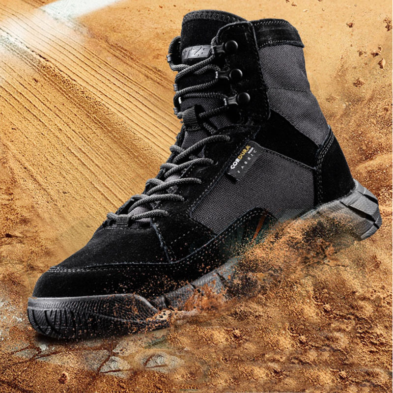 Hiking Shoes Breathable Tactical Boots Mens Climbing Hiking Shoes Waterproof Military Boots Anti-slip Outdoor Combat Sneakers