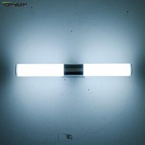 Image 1 - LED duvar ışıklı makyaj aynası ışıkları kapalı dekor basit stil banyo soyunma odası mutfak duvar lambası AC85 265V vanity işık