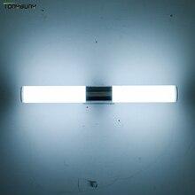 LED קיר אור איפור מראה אורות מקורה דקור פשוט סגנון אמבטיה הלבשה חדר מטבח קיר מנורת AC85 265V יהירות אור