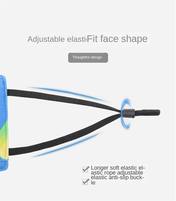 1PCS High Quality Foam Prevent Anti Dust Saliva Formaldehyde Bad Smell Bacteria Proof Face Mouth Mask With 3 Replaceable Filter 1