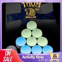 Taom Chalk Blue Green Colors Billiard Chalk Snooker Chalk Pool Chalk Professional Durable Chalks Billiard Accessories