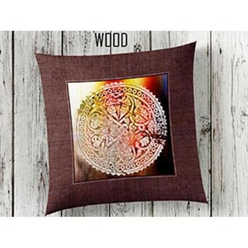 Wood 3d Pillow decorate image