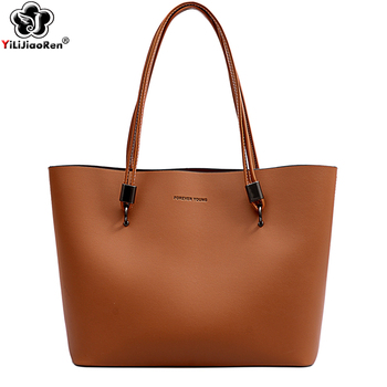 Ladies Handbags Women Fashion Bags 2019 Women Large Capacity Totes Bags for Women Luxury Brand Pu Leather Big Shoulder Bag Sac