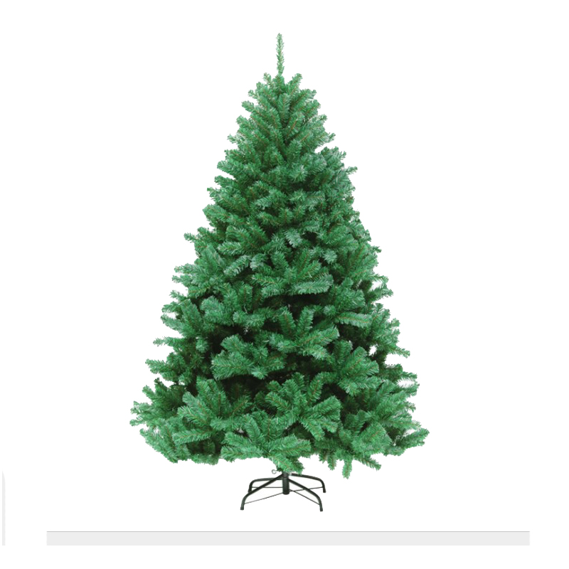 210 см новогодняя елка ПВХ вечерние домашние рождественские украшения для отеля Рождественская елка - 6