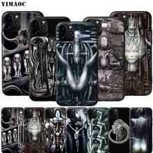 YIMAOC Hr Giger Li II Silicone Soft Case for iPhone