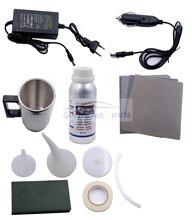 Kit de réparation anti rayures pour phares de voiture, couche hydrophobe, verre, véhicule, 800g