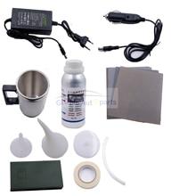 Pasta de polimento 800g para lente da lanterna, conjunto polimento de vidro, farol automotivo, reparo da camada hidrofóbica, reparo de arranhados, não abrasivo