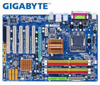 gigabyte GA-P43-ES3G original All solid state desktop motherboard DDR2 for intel LGA775 P43 Gigabit Ethernet