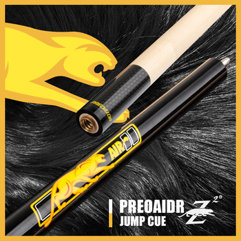 цена на PREOAIDR 3142 Air 2 Jump Cue 13mm Tip 106.68 cm Length Maple Professional Handmade Durable Jump Cue Billiards Cue Stick Kit