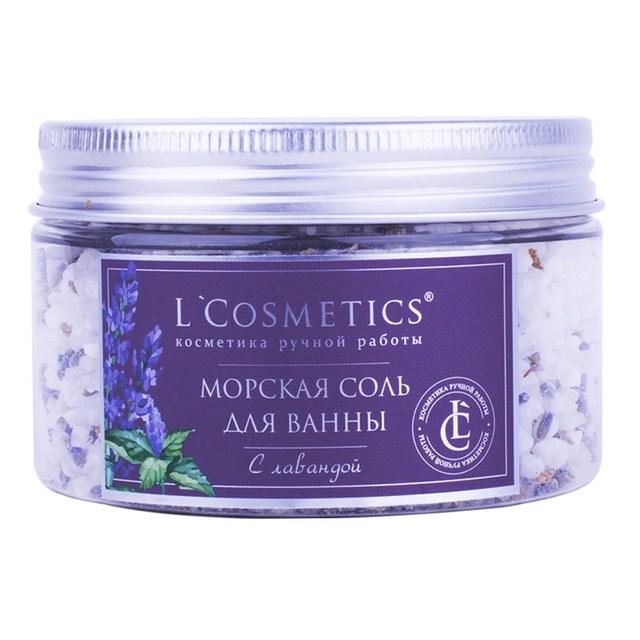 "Sea salt of the Dead Sea for baths ""Lavender"" 300g Organic Bath Salt Ball Natural Bubble Bath Bombs BallAromatic Aromatherapy Natural Air Fresh Body"