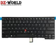 Inglês DOS EUA Novo Teclado para Lenovo Thinkpad L440 L450 L460 T440 T440S T431S T440P T450 T450S T460 E431 E440 Laptop 04Y0862
