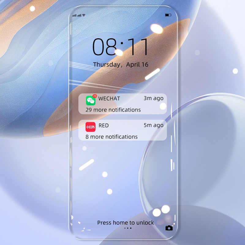 Koruyucu cam ekran koruyucu için Moto bir eylem Zoom G7 oyun gücü P30 P40 P50 E6S G güç Stylus 2020 temperli cam filmi