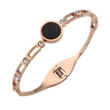 Новый женский браслет для влюбленных из титановой стали модные