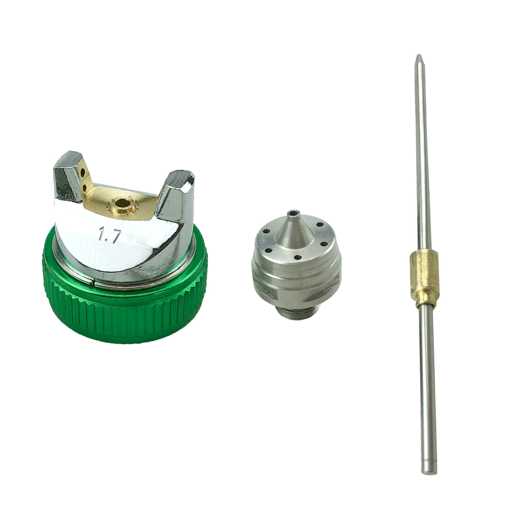 Купить с кэшбэком G2008 Professional HVLP 600ML 1.4/1.7/2.0mm Nozzle Gravity Pneumatic Air Paint Spay Gun For Car Auto Repair Tool Painting Kit