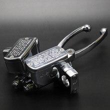 Accessoires pour Suzuki Intruder 800 1400 1500 cylindre de moto 25mm frein chromé