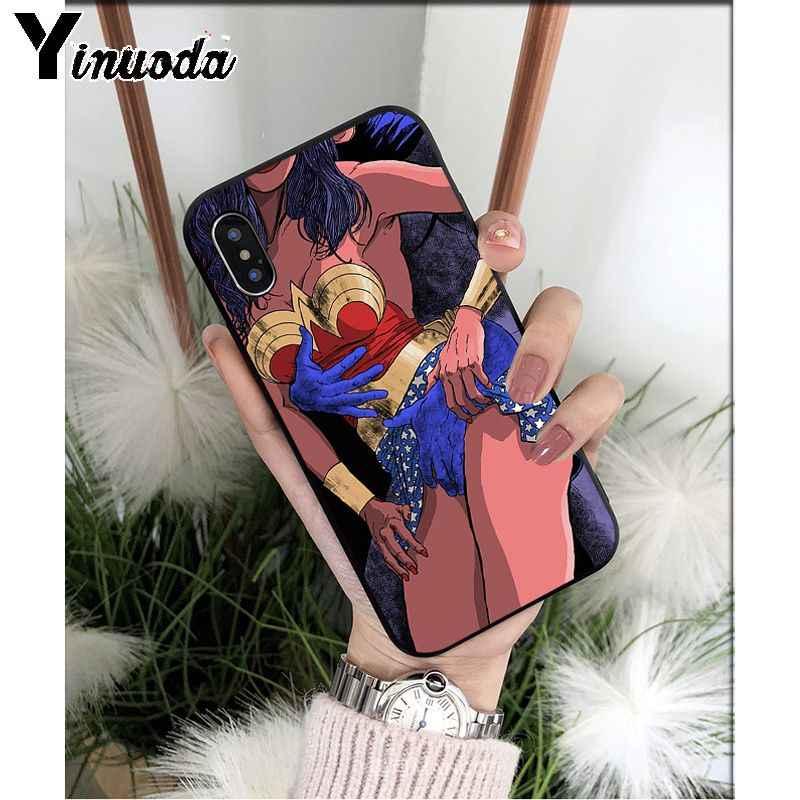 Yinuoda Heißer Mädchen Bikini Twerk Es TPU Weichen Hohe Qualität Telefon Fall für iPhone X XS MAX 6 6S 7 7plus 8 8Plus 5 5S XR 11 11pro max