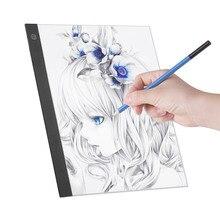 LED A3 Licht Panel Grafik Licht Pad Digitale Copyboard mit 3 ebene Dimmbare Helligkeit für Tracing Zeichnung Kopieren licht pad a3