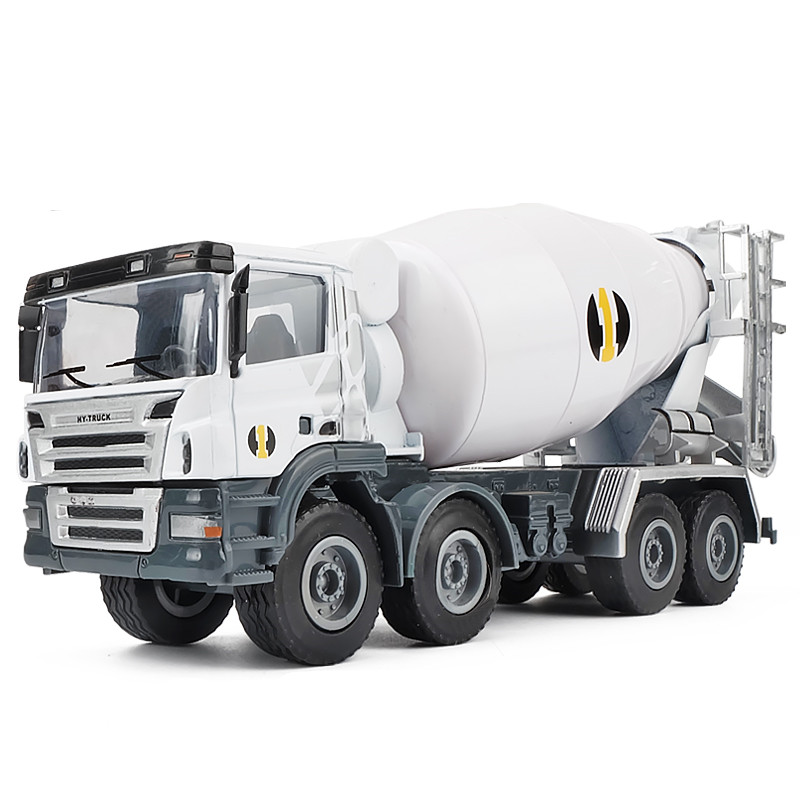 High Quality Transporter, 1:50 Mixer Alloy Model,metal Engineering Sliding Toy,simulation Children's Gift,free Shipping