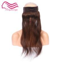 Tsingtaowigs, человеческих волос I BAND, головная повязка, кружевной захват для еврей парик, Кошерные Парики