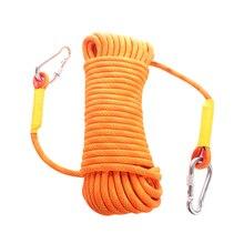 Corde descalade en plein air, 10.5mm, 10 50M, équipement descalade sur la glace, corde de sécurité, haute résistance, survie, accessoire descalade