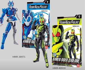 Image 1 - Bandai Kamen Rider zero one 01 Insect Form Shooting Wolf RKF Super Movable Hand Toys Figurals Model Dolls Brinquedos